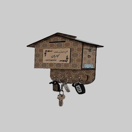 صندوق صدقات چوبی